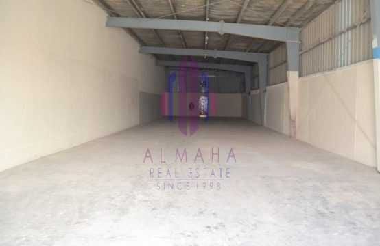 7600 sqft| Spacious WH in Ras Al Khor