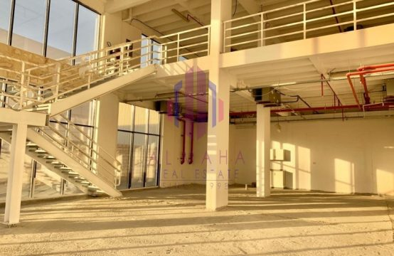 3012 sq.ft| Showroom on Main Rd| Al Quoz