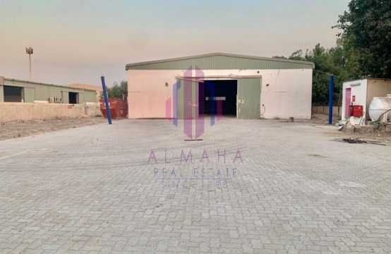 Independent WH with OpenPlot|21395sqft|Ras Al Khor