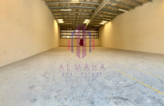3600 sq.ft| Spacious & Insulated WH| Al Quoz