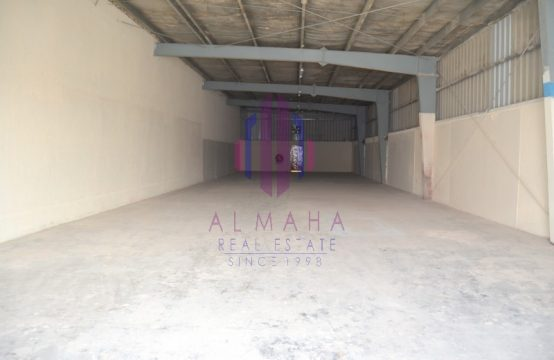 3800 sq.ft|Spacious&Maintained; WH|Ras Al Khor