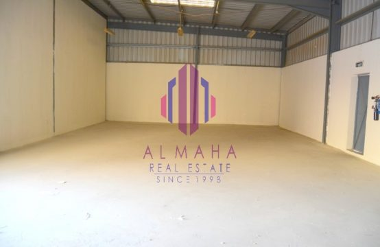 71KW  1400 sq.ft. WH in Prime Location  Ghusais