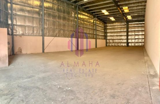 4000sqft WH with 10M Height in Prime Location