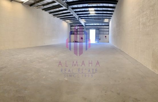 2600sq ft Insulated&Affordable; Monthly WH Al Quoz